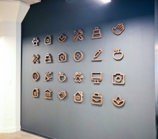 Thumbtack Wall Icons