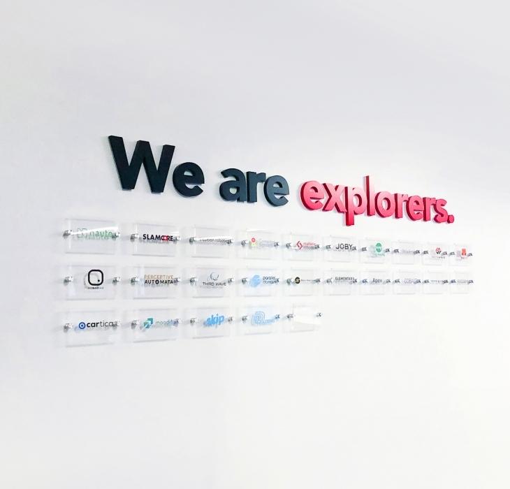 Toyota AI Ventures Portfolio Company Logo Wall
