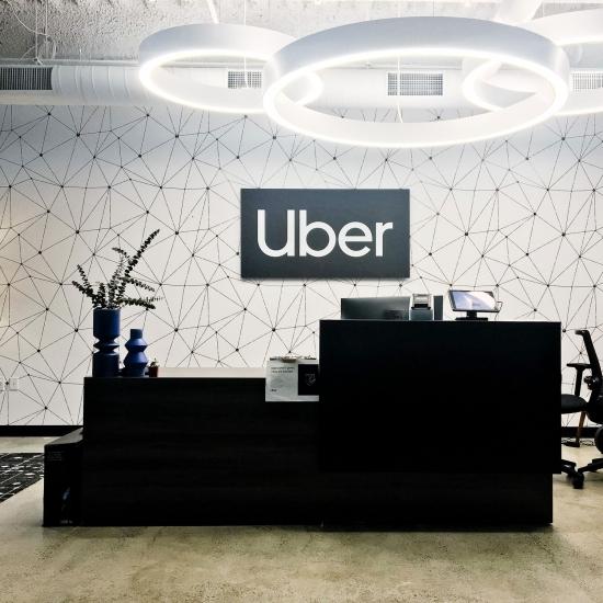 Uber Non-Illuminated Sign
