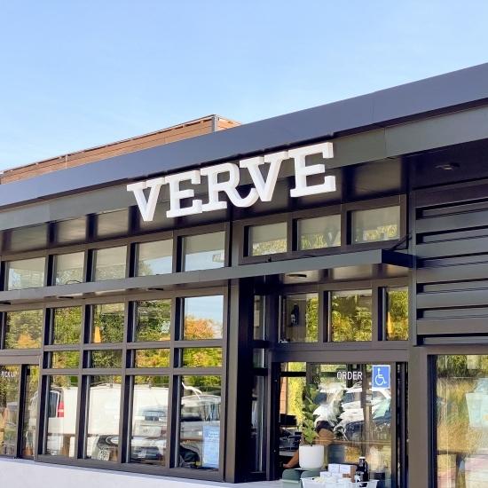 Verve Coffee Roofline Sign