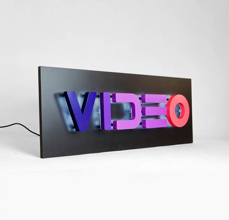 VIDEO sign for Facebook