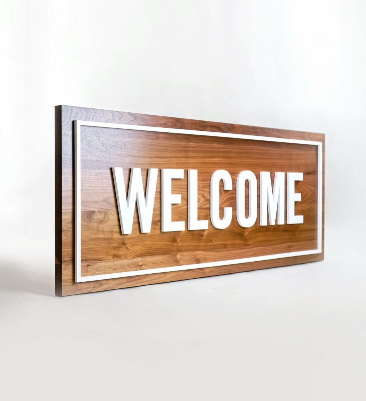 Columbia Community Church Welcome Sign