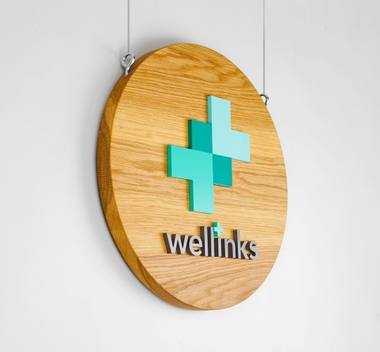 Wellinks Blade Sign