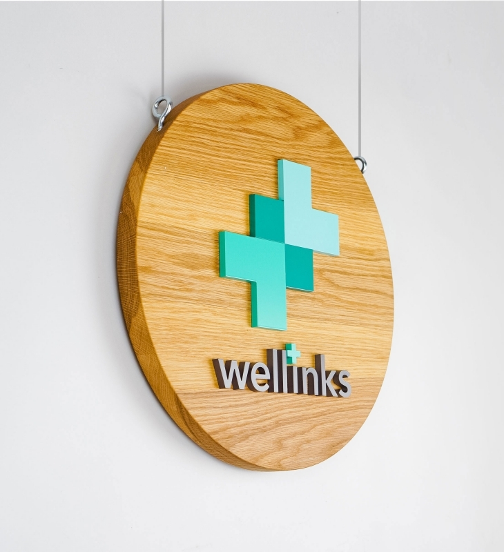 Wellinks Blade Sign