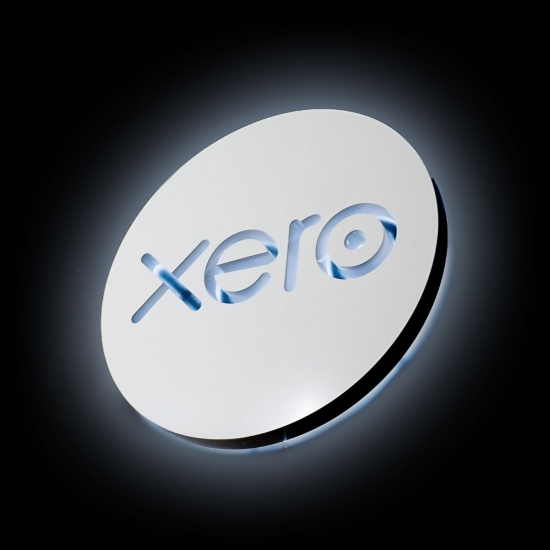 Xero Illuminated Sign