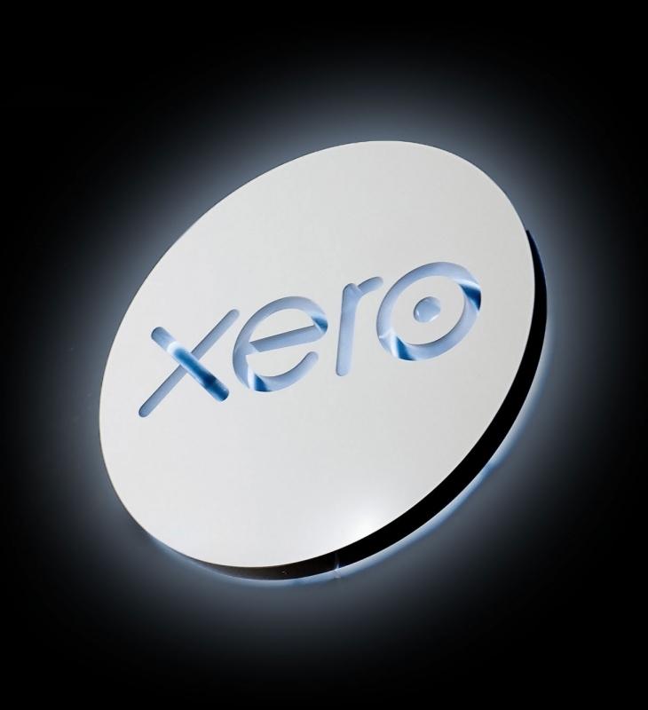 Xero Illuminated Sign
