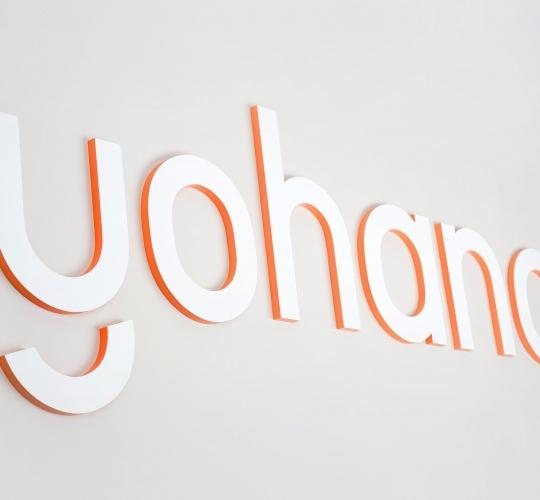 Yohana (Yo Labs) Monument Sign