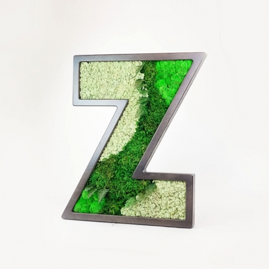 "Zumper ""Z"" Moss Letter"
